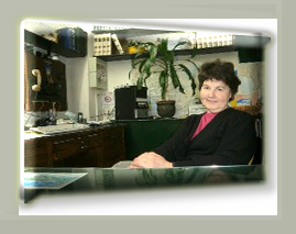 Anna Maria Sanguineti in her office