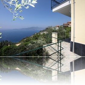 in the olive grove with a panoramic sea view - dossier 13 apartment